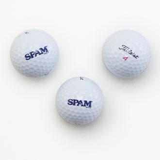 SPAM® Brand Golf Balls