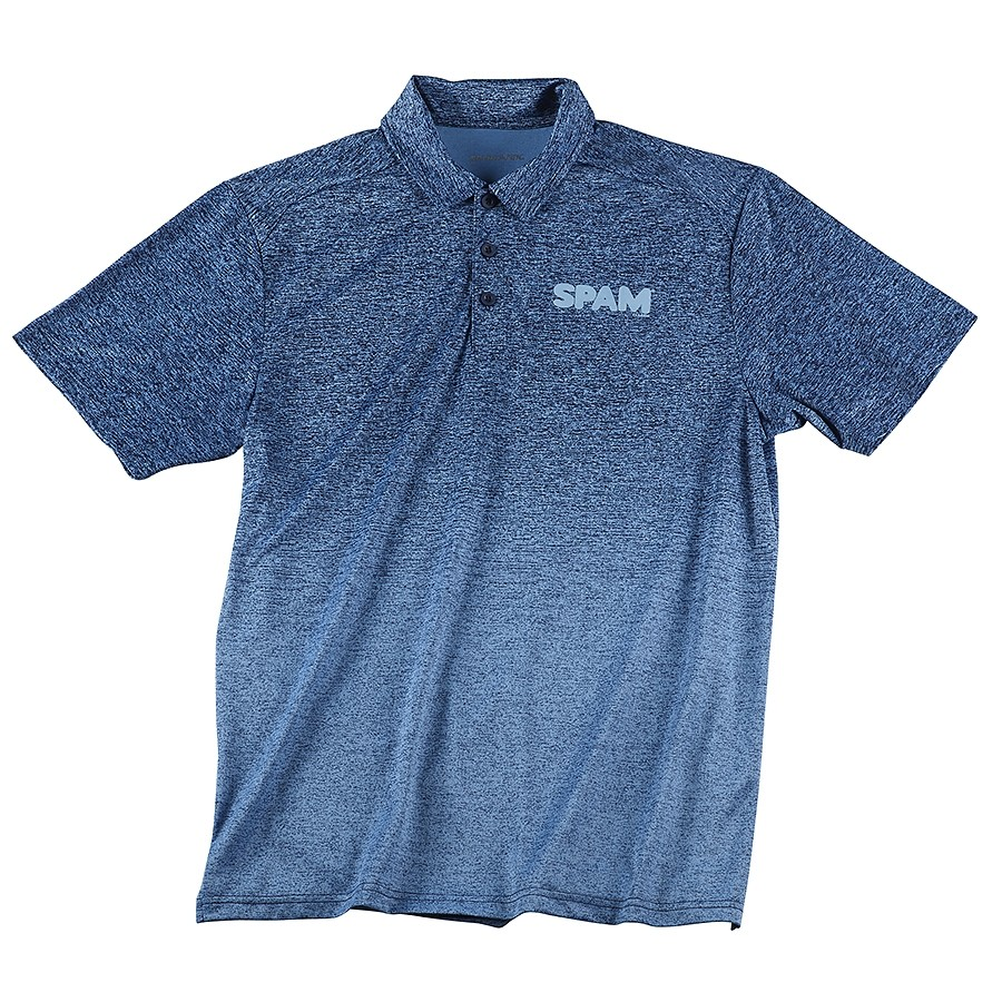 Heathered SPAM® Brand Polo