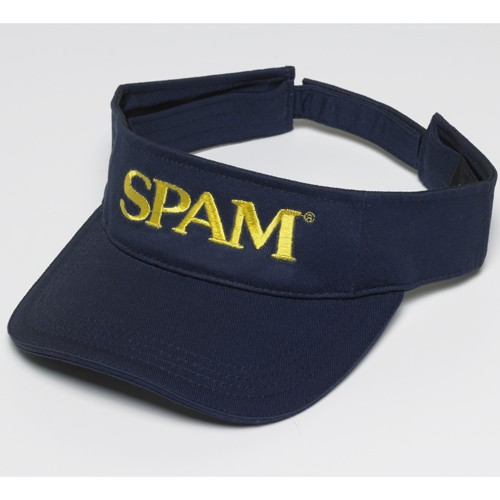 Navy SPAM® Brand Visor