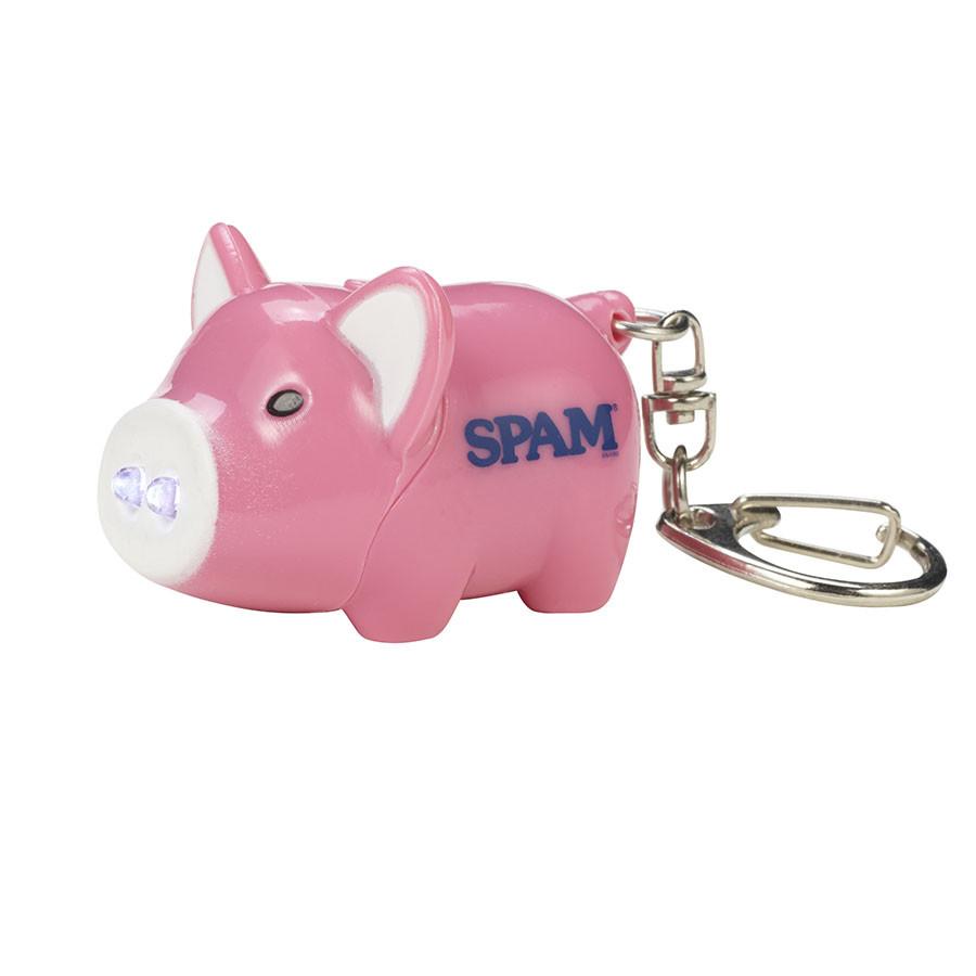 """Pink Piggy """"Oink"""" Keychain"""