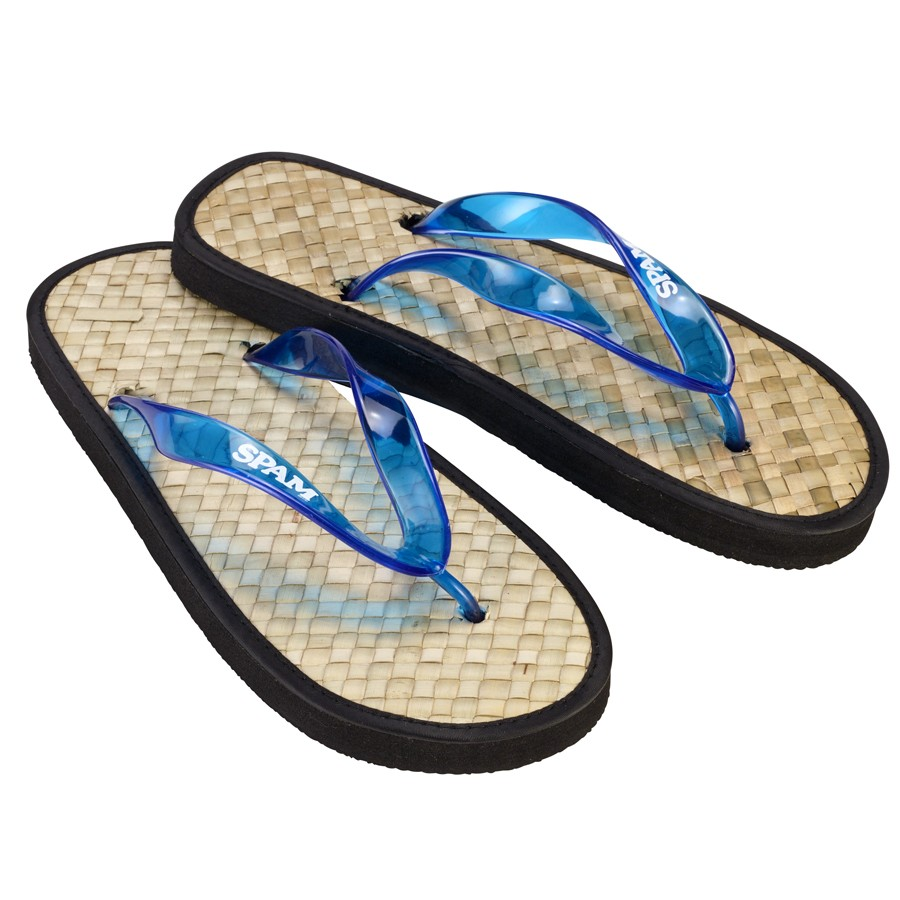 Bamboo Style SPAM® Brand Flip-Flops