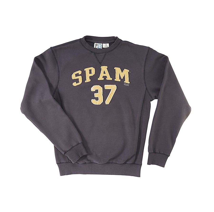 Sanded Sweatshirt with felt SPAM® Brand logo