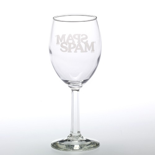 SPAM® Brand Wine Glass