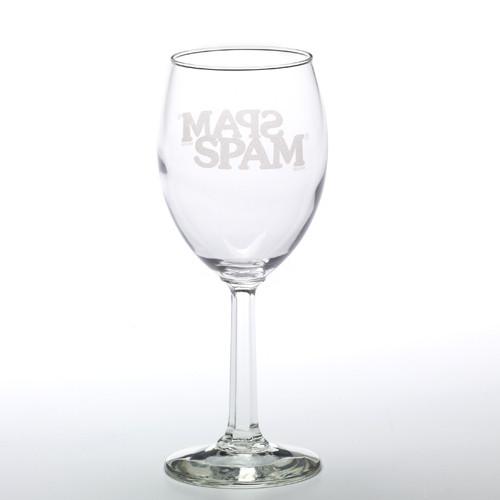 SPAM® Brand Wine Glass