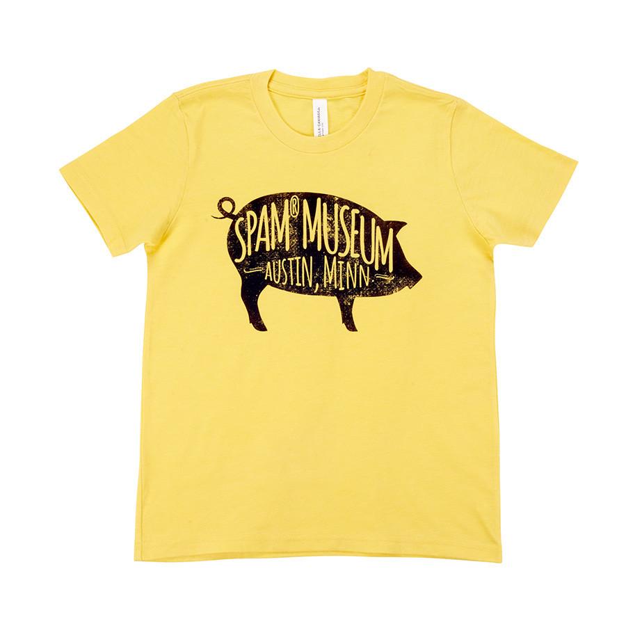 Toddler Pig Museum T-shirt
