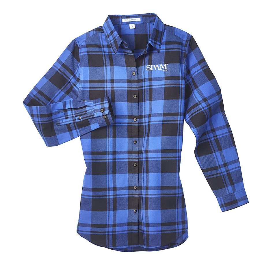 Ladies Flannel SPAM® Brand Shirt