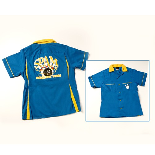 SPAM® Brand Bowling Shirt