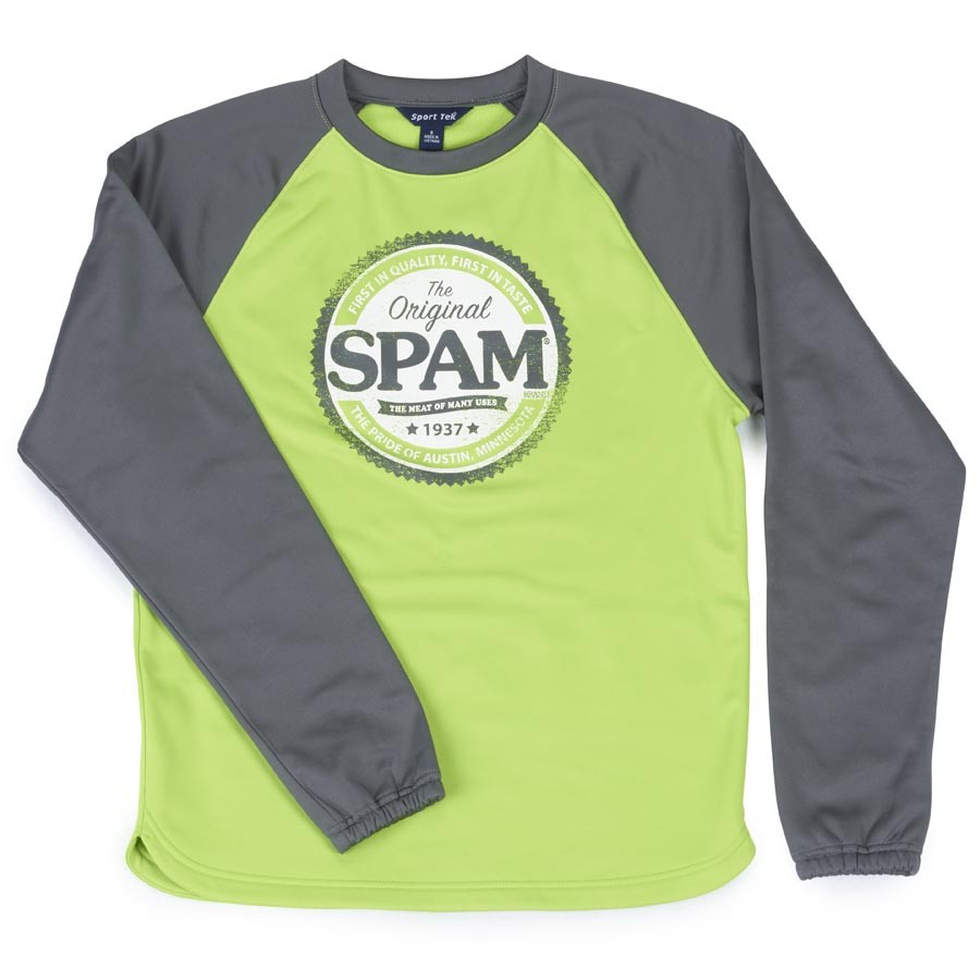 Lime Green Longsleeve SPAM® Brand Shirt