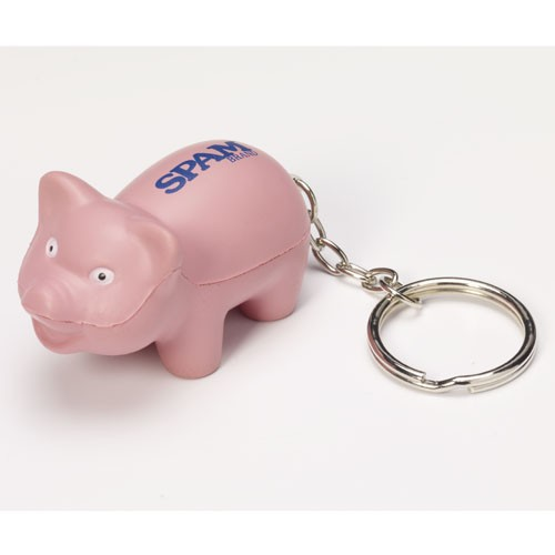 Soft Piggy Keychain
