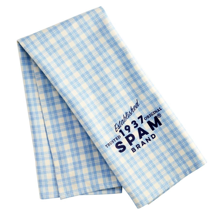 SPAM® Brand Plaid Dish Towel
