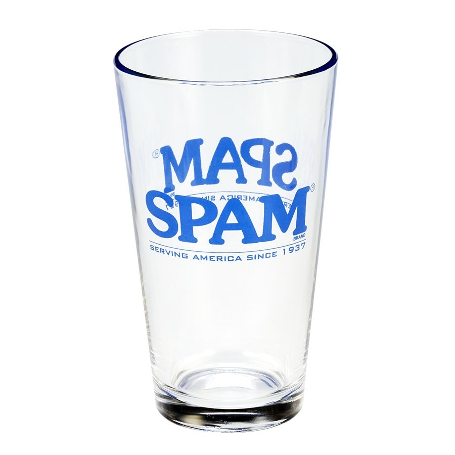 SPAM® Brand Glass