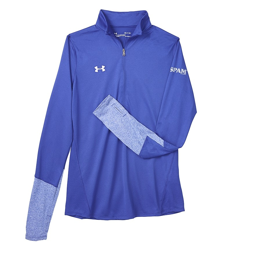 Ladies 1/4 Zip Royal SPAM® Brand Pullover