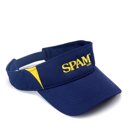 Navy & Gold SPAM® Brand Visor
