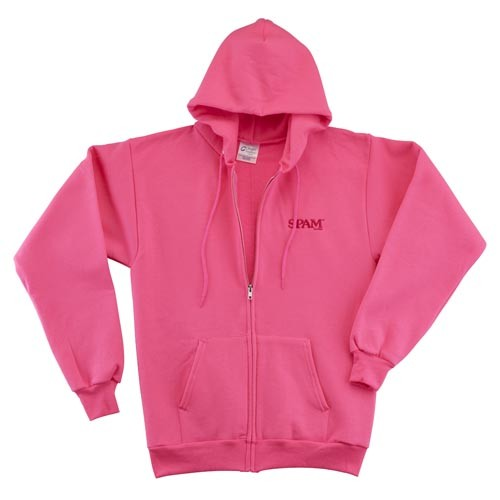 Ladies Zip SPAM® Brand Sweatshirt