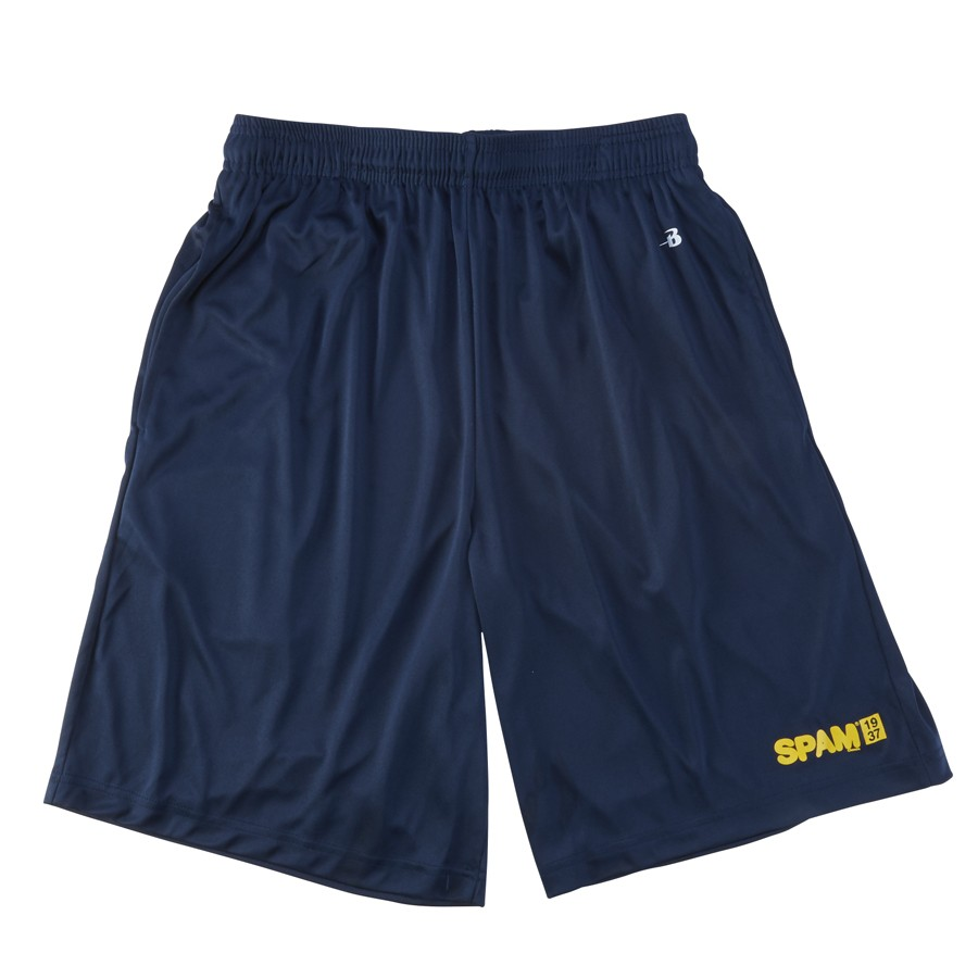 Navy SPAM® Brand Shorts (adult & youth)