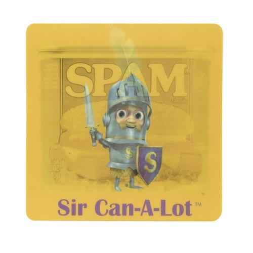 SIR CAN-A-LOT® Character Mousepad
