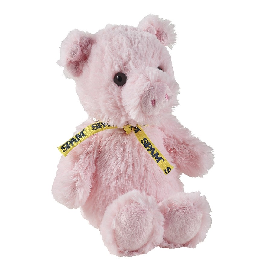 """8"""" Cuddly Pink Plush Pig"""