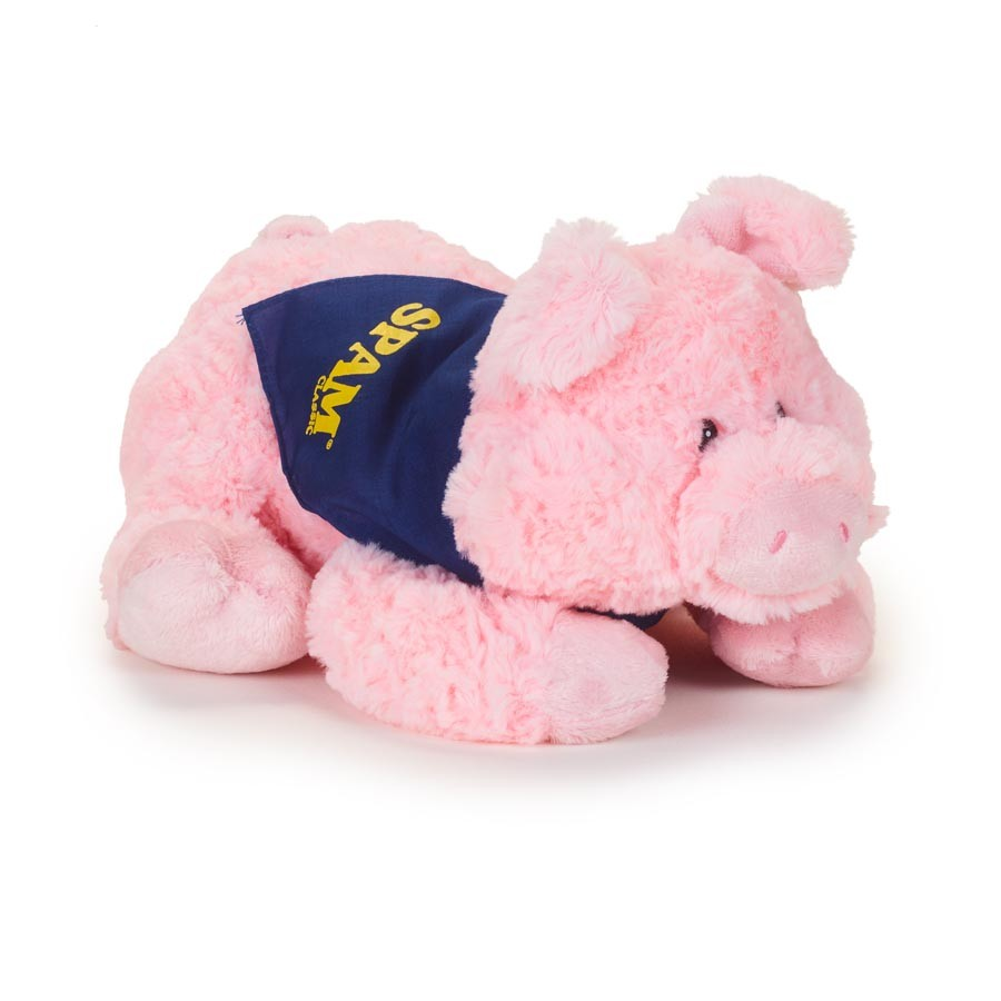 "11"" Plush Pig w/SPAM® Brand Bandana"