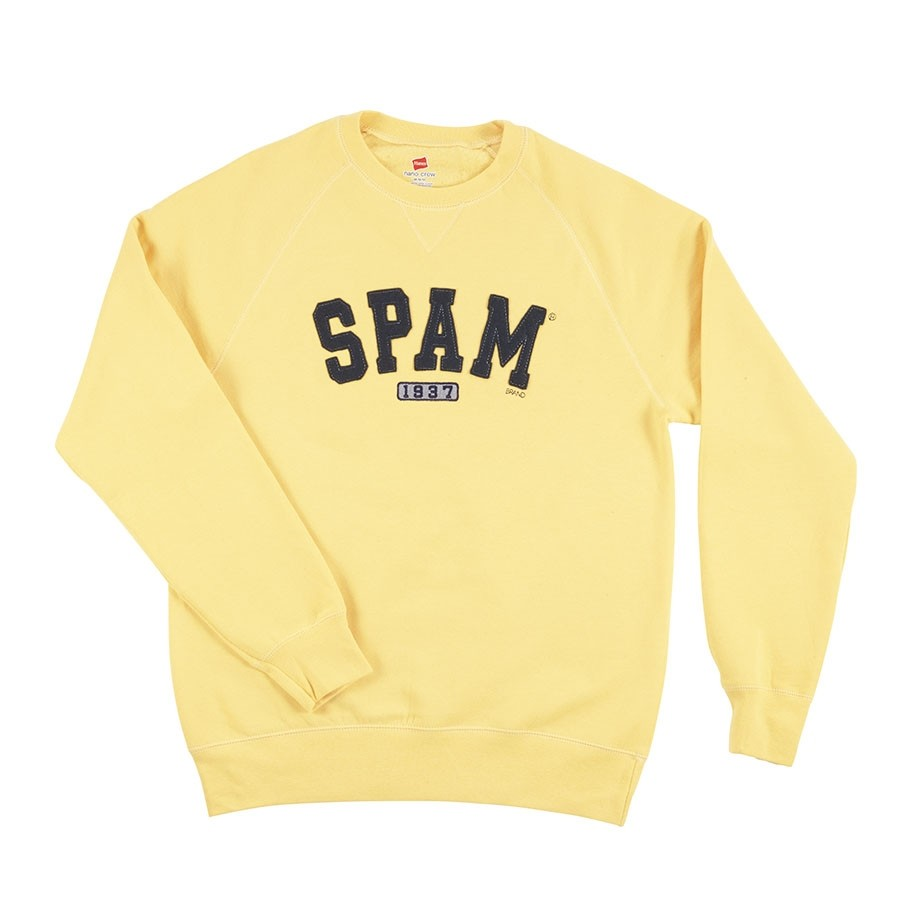 Yellow SPAM® Brand Sweatshirt