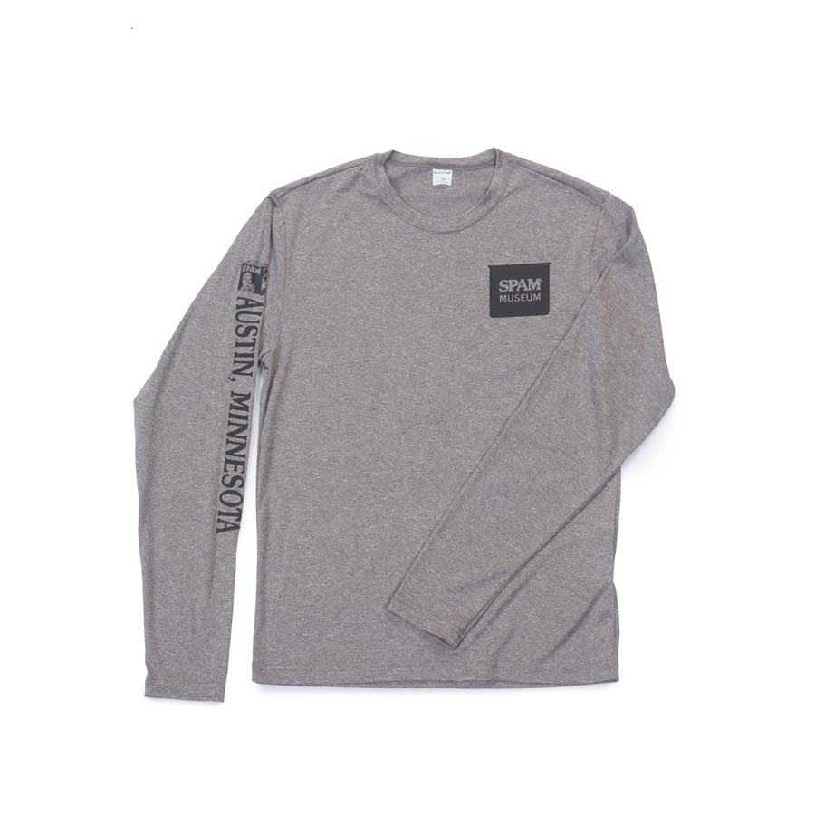 Grey Long Sleeved SPAM® Museum Shirt