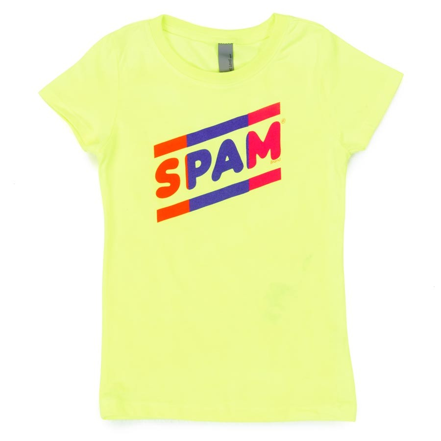 Youth Neon Yellow SPAM® Brand T-shirt