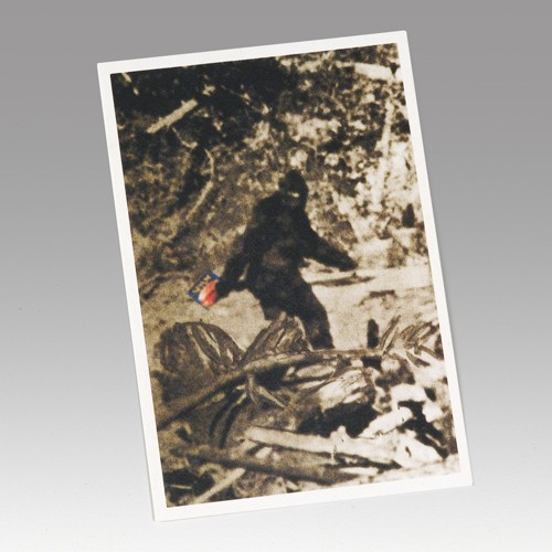 SPAM® Brand Bigfoot Postcard