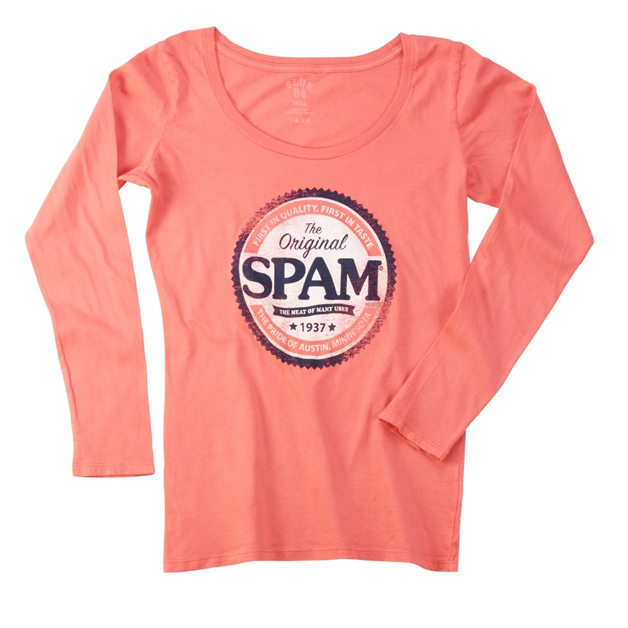 SPAM® Brand Long Sleeve Juniors