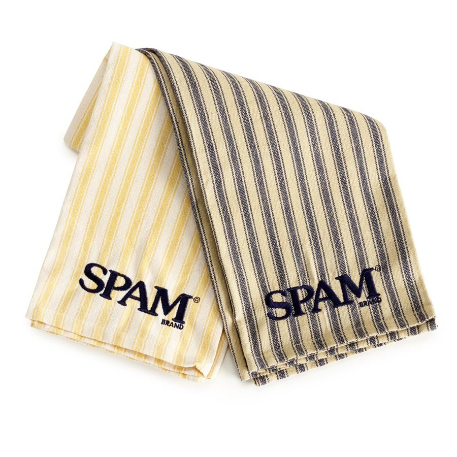 Striped SPAM® Brand Dish Towel