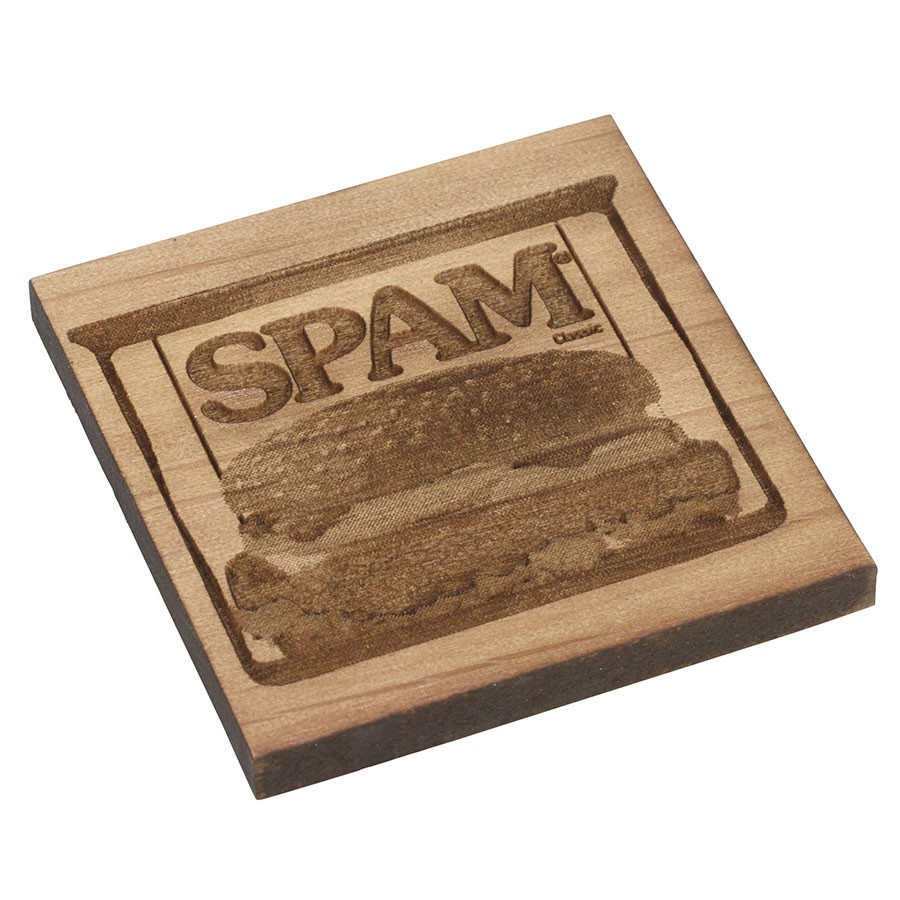Wood SPAM® Can Magnet