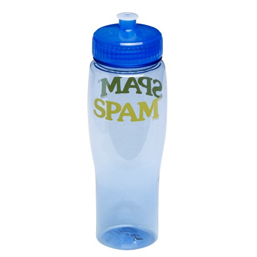 Translucent Blue SPAM® Brand Water Bottle