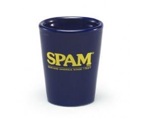 Navy SPAM® Brand Shot Glass