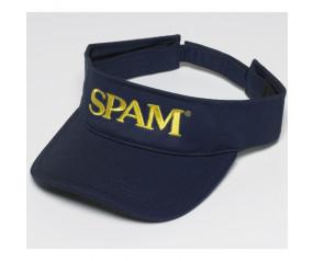 Navy SPAM® Brand Visor