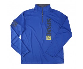 1/4 Zip Royal SPAM® Brand 37 (Adult & Youth)