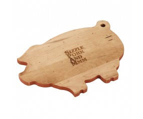 Wood SPAM® Brand Piggy Cutting Board