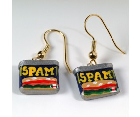 SPAM® Can Handmade Earrings - Color
