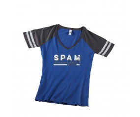 V-Neck SPAM® Brand T-shirt