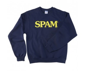 Navy SPAM® Brand Sweatshirt (youth & adult)