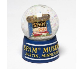 SPAM® Can Snowglobe