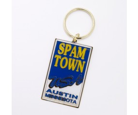 SPAM™TOWN USA Keychain