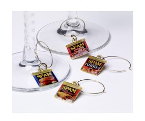 SPAM® Can Wine Charms