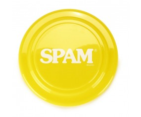Yellow SPAM® Brand Frisbee