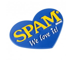 SPAM® Brand Heart Magnet