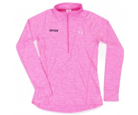 1/4 Zip Pink Under Armour ladies SPAM® Brand Pullover