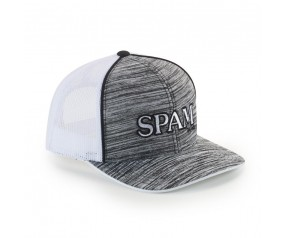 Black/White Mesh SPAM® Brand Cap
