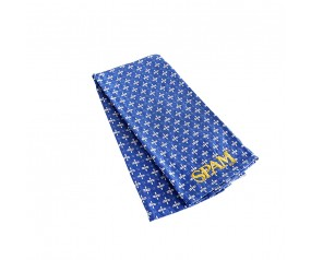 Blue Patterned SPAM® Brand Dish Towel