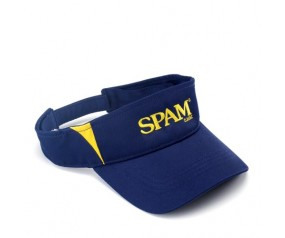 Navy & Gold SPAM® Brand Visor