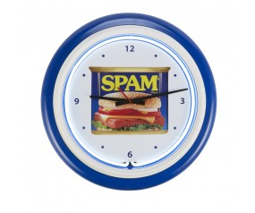 SPAM® Can Neon Clock