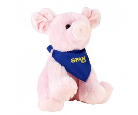 Plush Pig w/SPAM® Brand Bandana