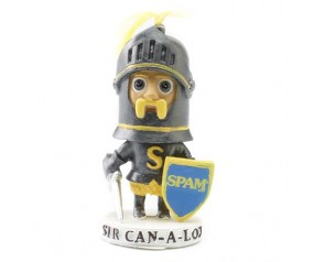 SIR CAN-A-LOT® Character Bobblehead