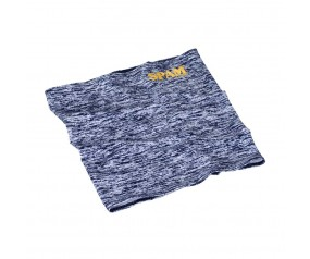 Navy Heathered SPAM® Brand Neck Gaiter